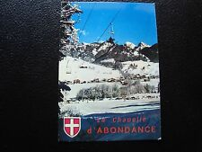 FRANCE - carte postale la chapelle d abondance (cy99) french