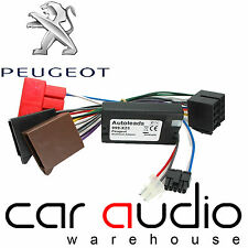 Peugeot 206 2000-2001 Clarion Car Stereo Steering Wheel Interface Adaptor