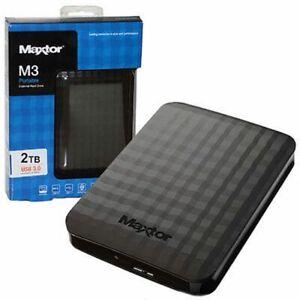 HARD-DISK-ESTERNO-2-5-USB-3-0-2TB-2000GB-MAXTOR-SEAGATE-SAMSUNG-AUTOALIMENTATO