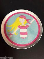 Pottery Barn Kids Mermaid Plate Kitchen Table Pirate Sea Ocean Beach Easter