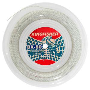 Kingfisher BX80 vert/blanc badminton string - 100m  </span>