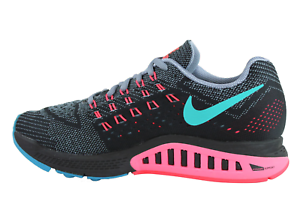 Details about Nike Air Zoom Structure 18 Training Trainers BLACK GREY MULTICOLOR 683738 001