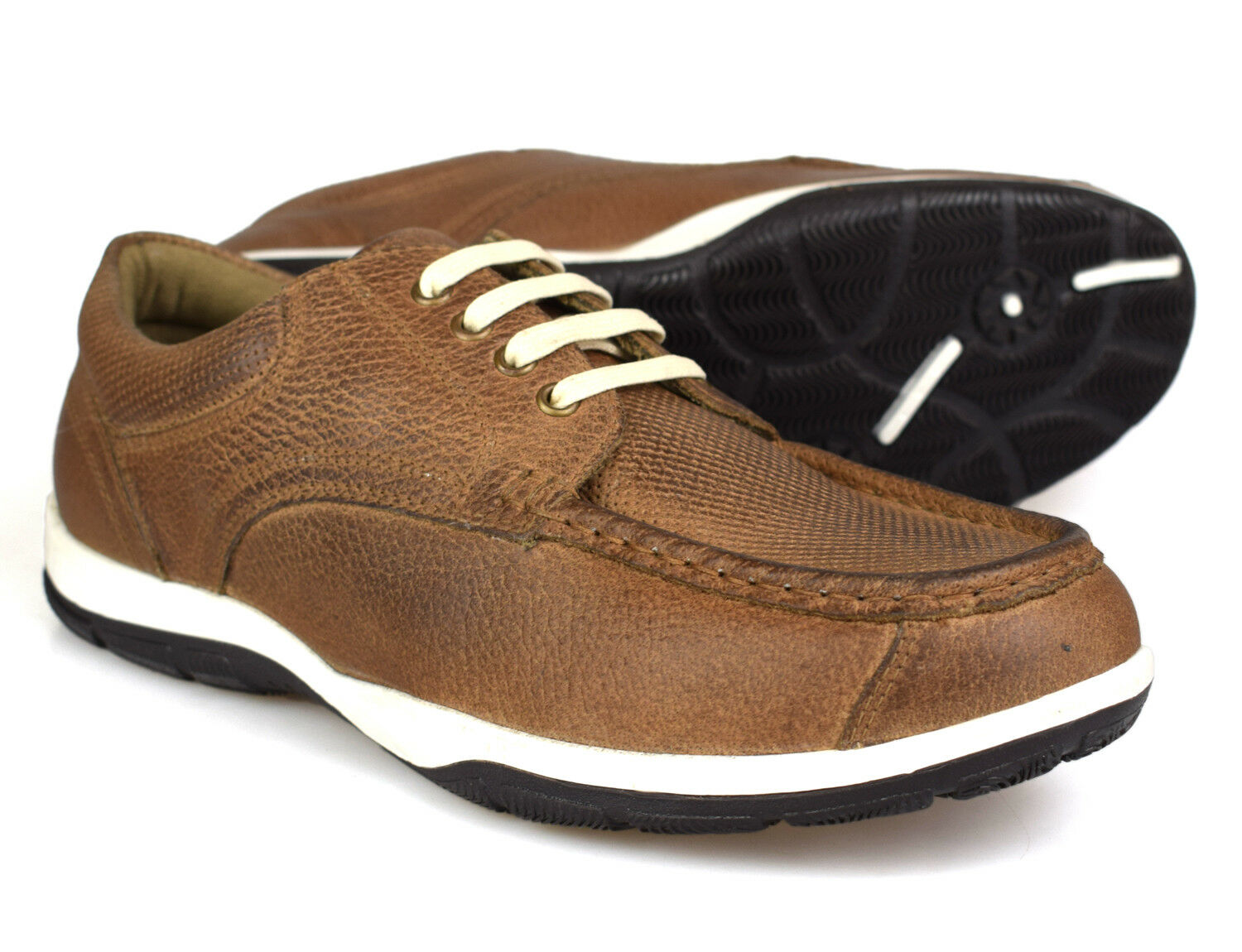Red Tape Larz Smokey Brown Leather Casual shoes