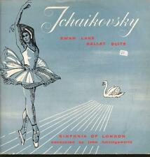 Tchaikovsky(Vinyl LP)Swan Lake Sinfonia Of London Hollingsworth-World R-VG/VG+