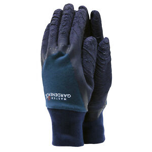 Small//Medium, Green Town /& Country Master Gardener Thorn Resistent Super Protective Grip Coating Cotton /& Latex Washable Gardening Gloves