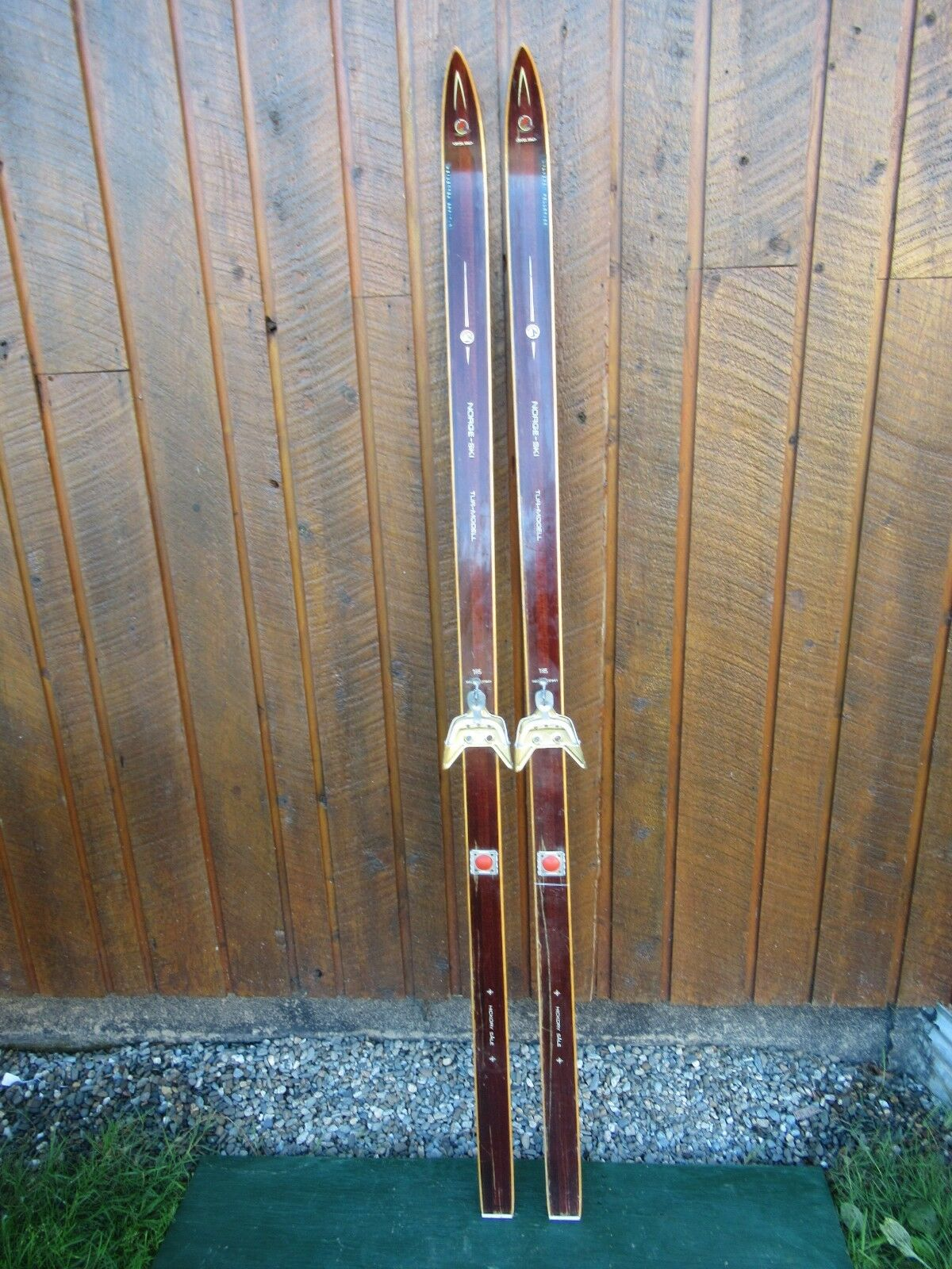 Vintage Vintage Vintage Wooden Skis 71