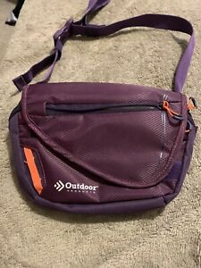 Fanny Pack Waist Hiking Camping Festival Outdoor Products Purple
