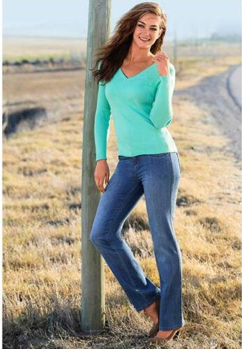 John Bauer Blue Stretch Jeans mit Shapefunktion 5 Pocket Hose Damenjeans Denim