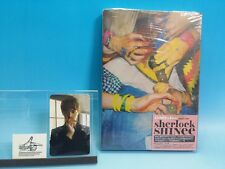 CD SHINee Sherlock Taiwan Press Photo card Minho Very Rare! Avex Taiwan