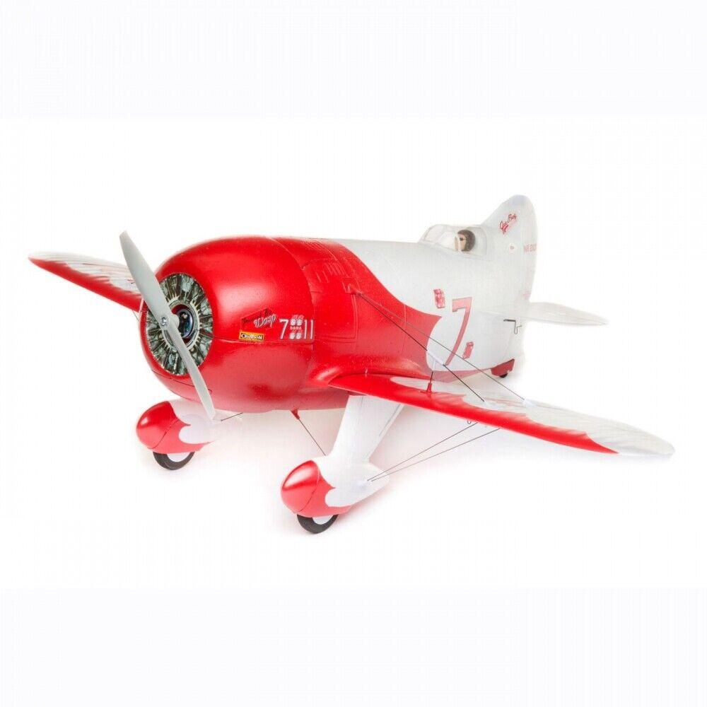 - flite UMX Gee E Bee R-2 básico con AS3X y seguro seleccionar EFLU 6150