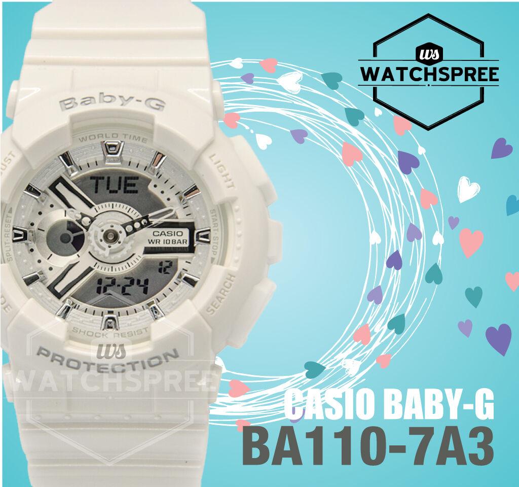 Casio Baby G Womens Wrist Watch Ba110 7a3 7a3cr Gloss White Bga 150ef 4b Original Norton Secured Powered By Verisign