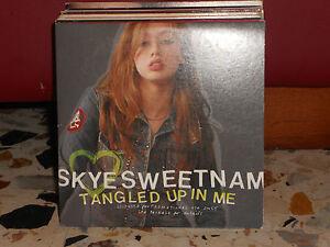 SKYE-SWEETNAM-TANGLED-UP-IN-ME-cd-cardsleave-PROMOZIONALE-2004-NUOVO