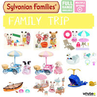 Sylvanian Families Family Trip Sets Full Range Choose Your Set Brand In Box