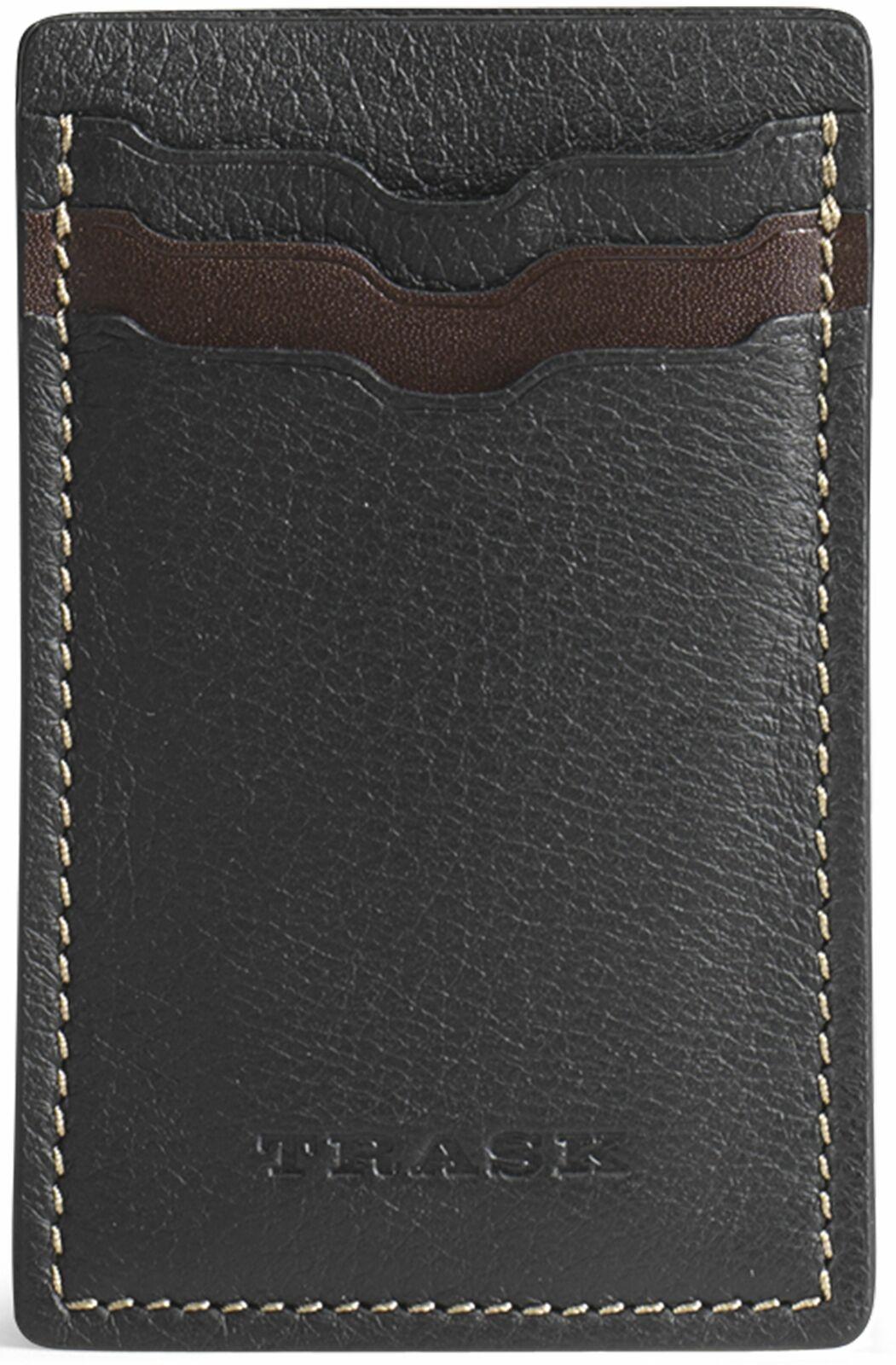Trask Jackson Magnetic Money Clip Front Pocket Soft Leather Wallet