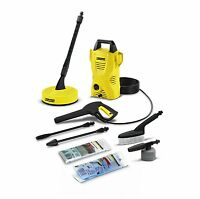 Karcher K2 Compact Home and Car Air-Cooled Pressure Washer -UK PLUG