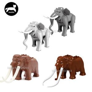 New-Legoingly-Elephant-Figure-Cute-Animals-Building-Blocks-Set-Model