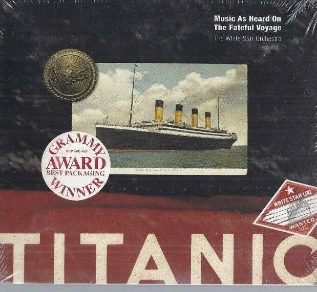 Titanic- Music As Heard On The Fateful Voyage The White Star Orchestra - Neu OVP