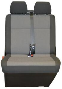 VW-Transporter-t6-t5-Front-Beifahrer-Sitzbezug-Austin-Titan-schwarz