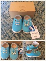 Zara Mini Baby Lace Up Shoes Size ½ /15/16 Retail $25.90