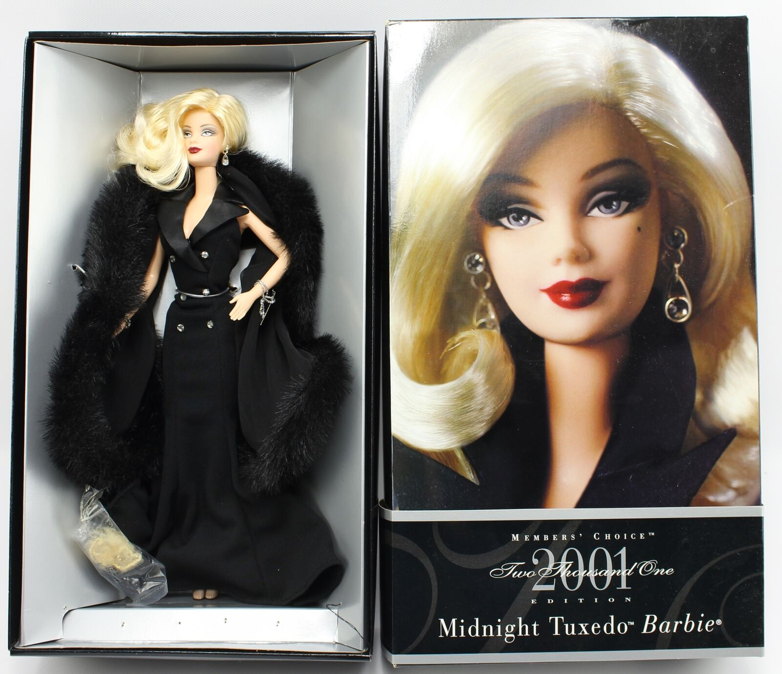 Midnight Tuxedo Barbie 2001 Limited Edition