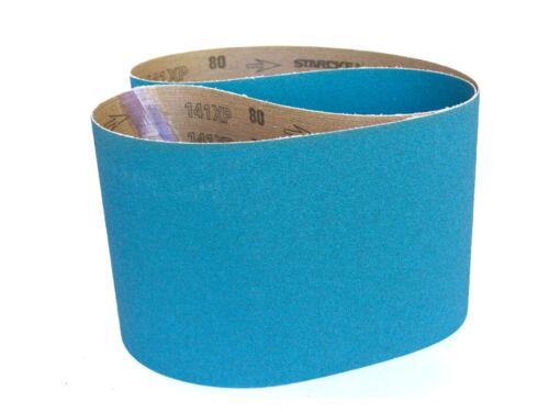 Sanding Belts 6 X 48 Zirconia Cloth Sander Belts 120 Grit 6 Pack