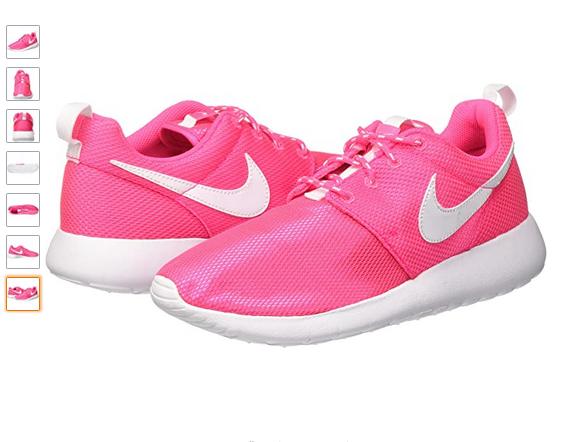 Nike Roshe One Unisexe Enfants entraînement de fitness rose Hyper Rose/Blanc 5.5 UK