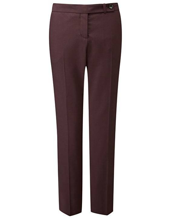 BNWT Pure Collection Tailored Ankle Length Trousers - Fig - RRP