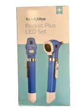Welch Allyn 92880 Led 25v Pocket Plus Diagnostic Set With Ophthalmoscope Otoscope