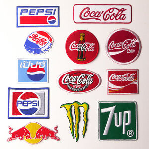 SOFT DRINK PATCH COLLECTION - Low Price, UK Stock, Free Post!