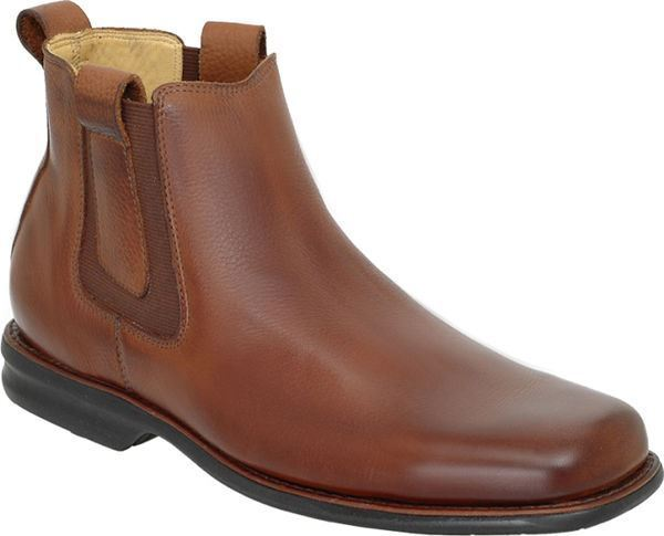 Anatomic & Co Amazonas Chelsea Boot Tan Soft Leder Wide Fitting rrp £135