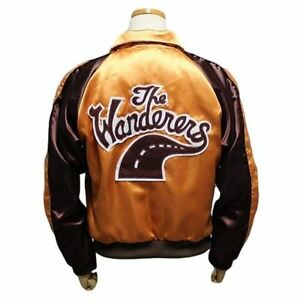 The-Wanderers-Movie-Men-039-s-Varsity-Letterman-Fancy-Party-Halloween-Jacket