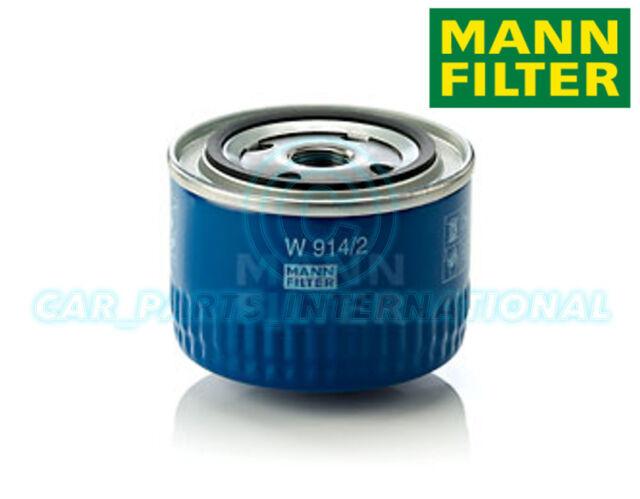 Mann Hummel repuesto de calidad OE Filtro de aceite del motor W 914/2