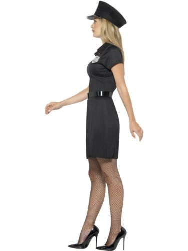 Ladies Police Special Constable Costume Womens Cop Fancy Dress Outfit