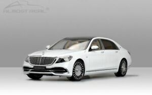 ALMOST-REAL-820111-820112-MERCEDES-MAYBACH-S-CLASS-model-cars-white-black-1-18