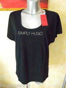 tee-shirt-noir-femme-HUGO-BOSS-T-L-ou-42-NEUF-ETIQUETTE