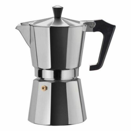 Caffettiera espresso casa mezza tazza moka espresso caffè in alluminio