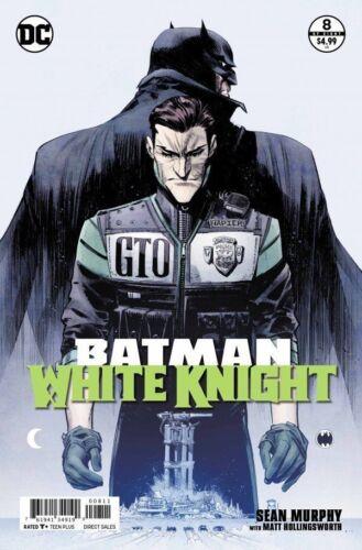 BATMAN WHITE KNIGHT #8 NEAR MINT 2018 UNREAD DC bin-2019-0463