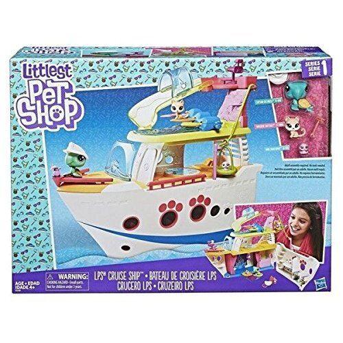 Thanksgiving Thanksgiving Thanksgiving et l'amour Littlest Pet Shop C1159EU40 LPS navire de croisière Playset 42e3de