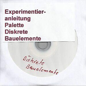 "Spielzeug 02 048 DDR Experimentierkasten Polytronic Elektronik 5 ""Anleitung Teil 1+2 Kpl."