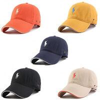 Hip hop Small Pony Classic Baseball Ball Cap Outdoor Sports Polo Hats Unisex 118