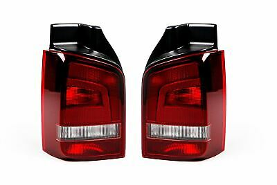 VW Caravelle T5 03-15 Clear Tailgate Rear Tail Light Driver Right Off Side O//S