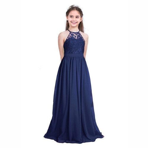 Vestidos De Fiesta De Niña y Para Bodas Bautizos Niñas Elegantes Graduación 2019