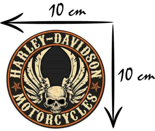 Iron on badge patch Original DYI Harley Davidson  LOGO heat transfer applique