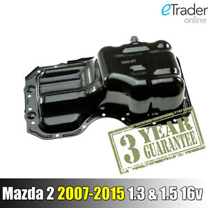 For-Mazda-2-2007-2015-1-3-amp-1-5-16v-Steel-Engine-Oil-Sump-Pan-NEW