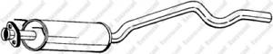 Mittelschalldämpfer für Abgasanlage BOSAL 282-309