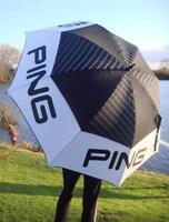 Ping Golf - Ex Large 68 Arc Tour Umbrella Plus Free Ping Tour Tees & Ballmarker