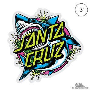 Santa-Cruz-Shark-Dot-Skateboard-Sticker-3in