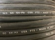Belden 735211 Black 163 So Sx Pa Csa Ft2 600v Portable Cord Wire 100ft