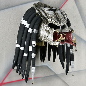 Predator Motorcycle Helmet Free Shipping Dot Ece Certified Cosplay Mask Ebay