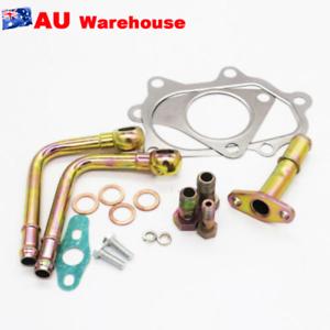 Turbocharger-2000-882-210-Turbo-Install-Kit-For-SUBARU-Mitsubishi-TD04L-TF035HM